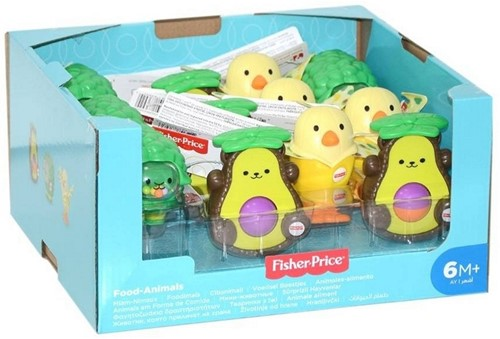 Fisher Price Foodimals in display