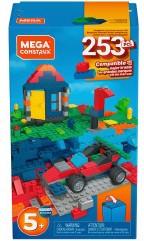 Mattel Mega Construx Bouwstenen 253 delig 13x23cm