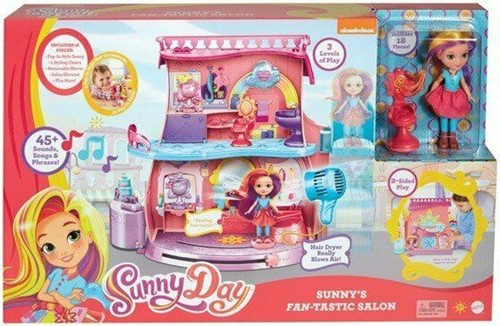 Mattel Sunny Day Sunny's Fan-Tastic Salon met pop 18 delig