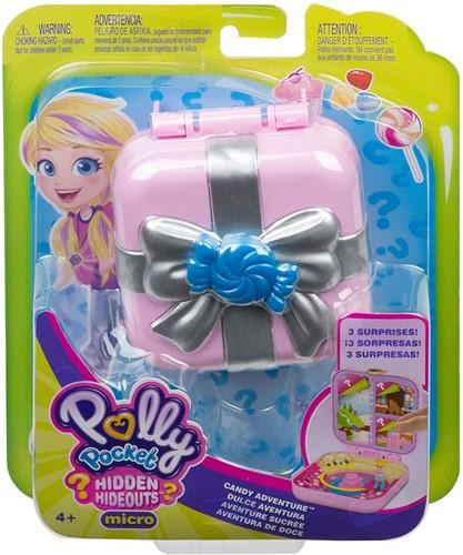 Mattel Polly Pocket Mini-Speelset, avontuurlijk avontuur