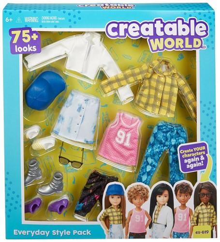 Mattel Creative World Stylingset kleding