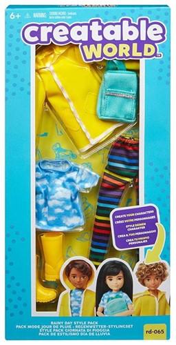 Mattel Creative World Stylingset Regenkleding