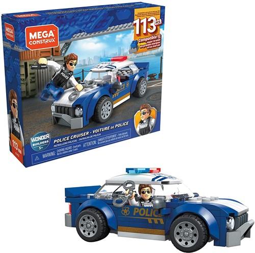 Mega Construx Police Cruiser 113 delig 18x15x4cm