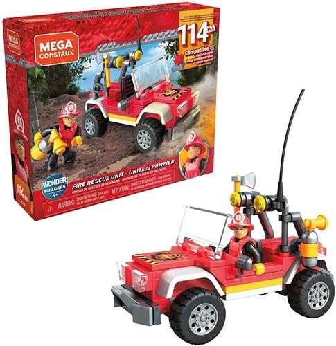 Mega Construx Fire Rescue Unit 114 delig 18x15x4cm