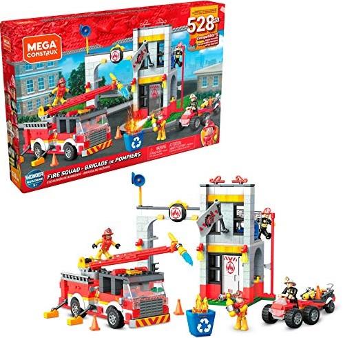Mega Construx brandweer constructieset 522 delen 26x40cm