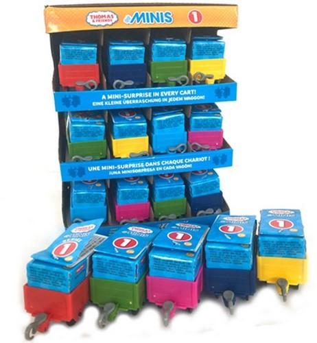 Mattel Thomas & Friends Minis, wagons, assorti in display (24)