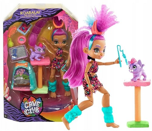 Mattel Cave Club Pop met toebehoren Wild about BBQs Roaralai 20x33cm