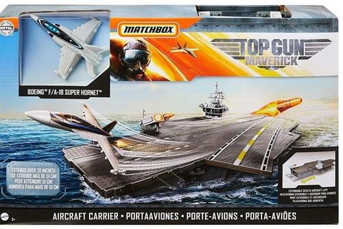 Top Gun Maverick Speelset Vliegdekschip 26x40cm