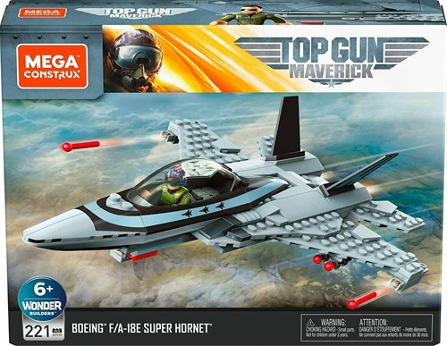 Mattel Mega Construx Top Gun Maverick 221 delig 20x26cm