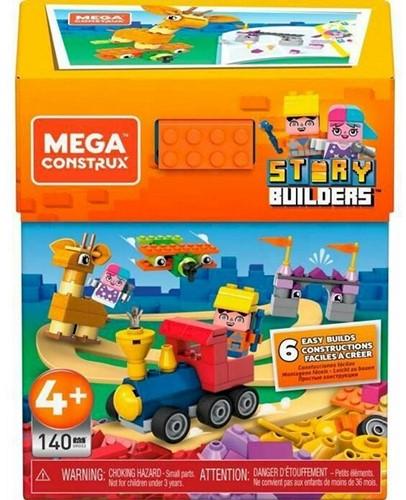 Mega Construx Story Builders 140 delig 12,5x16cm