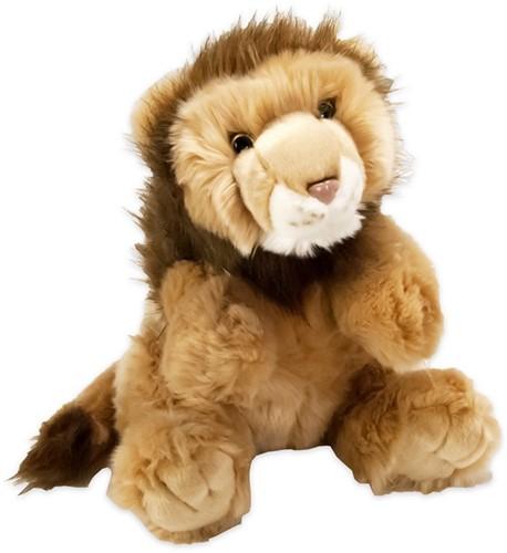 Pluche leeuw zittend 40cm