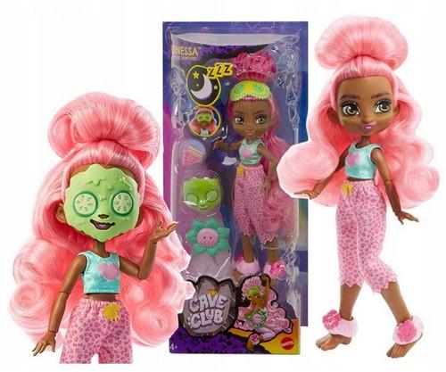Mattel Cave Club Pop met toebehoren Wild Pyjamaplezier Fernesse 15x33cm