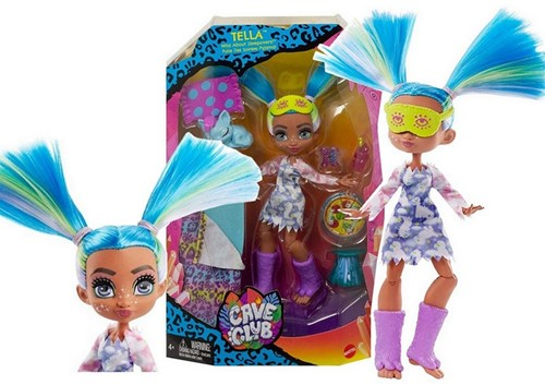 Mattel Cave Club Pop met toebehoren Tella 20x33cm