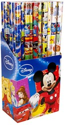 Disney inpakpapier 200x70cm in display