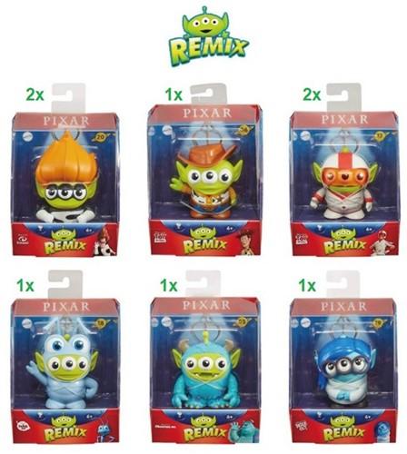 Disney Pixar Remix 6 assorti 11,5x14cm