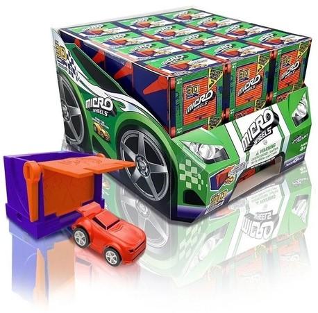Micro Wheels assorti in display (36) 5x7cm (FR/NL)