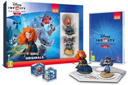 Disney Infinity Starter Pack, 2 figuren + Reader Tray + PS3 Game 24x32cm