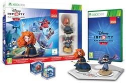 Disney Infinity Starter Pack, 2 figuren + Reader Tray + Xbox 360 Game 24x32cm