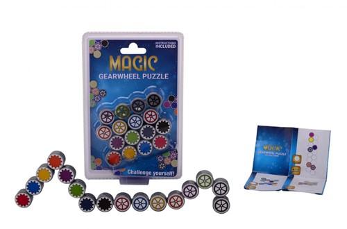 Magische schakels denkspel op kaart