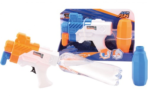 Aqua Fun waterpistool Space bottle shooter 2 assorti 30cm
