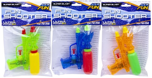 Aqua Fun Waterpistool Fun Shooter 3 assorti 18cm