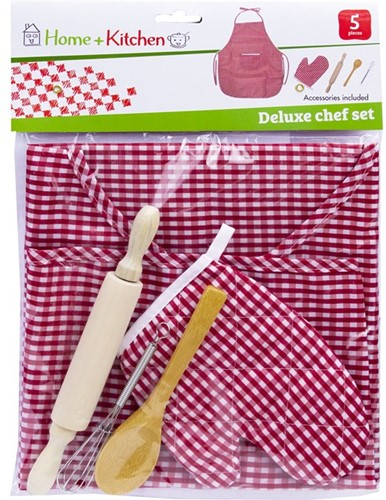 Home and Kitchen chef speelset deluxe 23x32cm