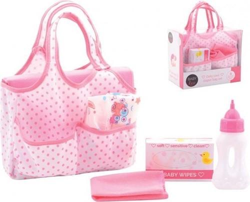 Baby Rose Luiertas met accessoires 16,5x19cm