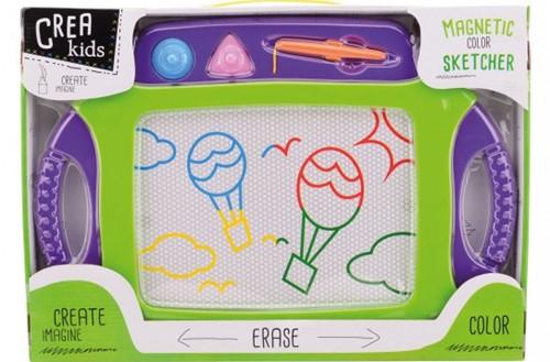 Crea Kids magnetisch kleuren tekenbord 45x30cm
