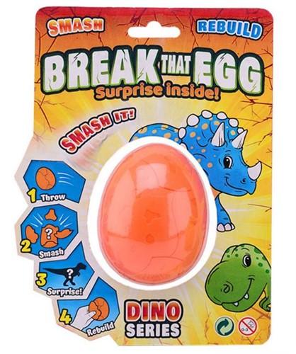 Break That Egg - Dinosaurus 4 assorti