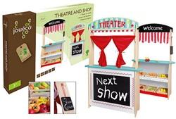 Jouéco® - 2in1 Theater en winkel met accessoires