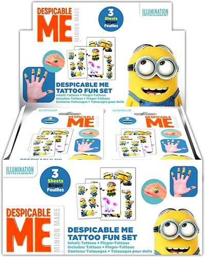 Minions Fun-Set Tattoo in display (24)