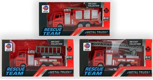 Auto Brandweer Die-Cast 3 assorti 11,5cm