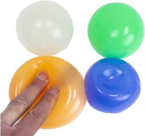 Magic Fidget Sticky Balls Glow in the Dark 4 assorti 7cm
