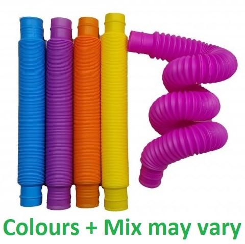 Magic Fidget Pop & Twist Tube 5 assorti 20cm