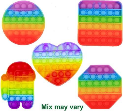 Magic Pop Game Rainbow assorti 12,5x12,5x1,5cm