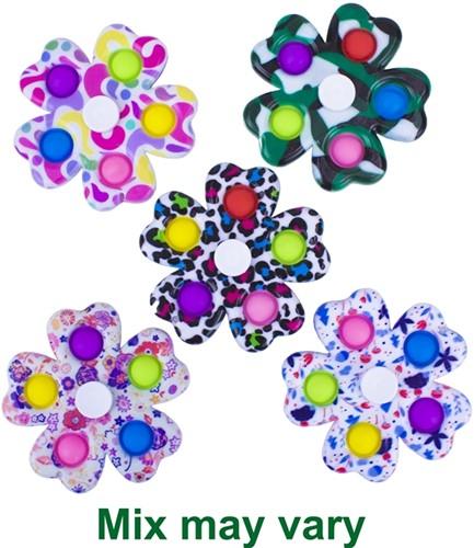 Magic Pop Game Spinner 5 Pops 5 assorti 8,5cm