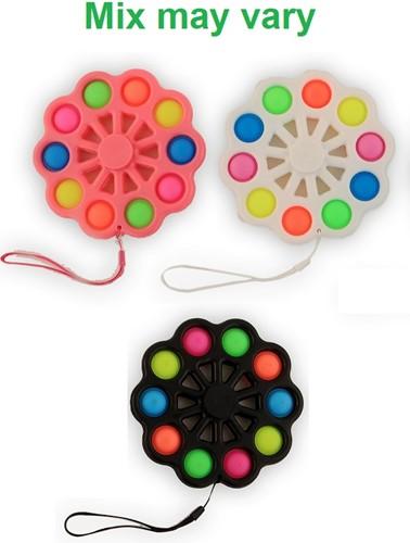 Magic Pop Game Spinner 10 Pops 3 assorti 14,5cm