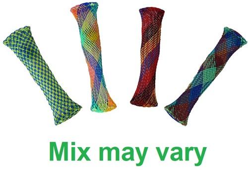 Magic Fidget Marble Mesh assorti Rainbow 2x10cm