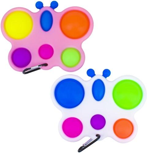 Magic Pop Game Vlinder 6 Pops 2 assorti 10x16cm