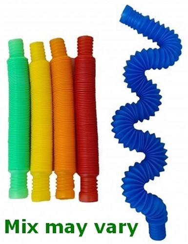 Magic Fidget Pop & Twist Tube 5 assorti 14x2cm
