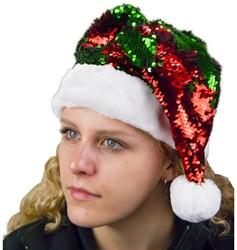 Kerstmuts Glitter Sequin
