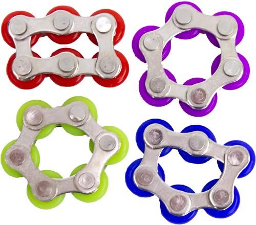 Magic Fidget Fietsketting 6 Chains assorti 3,5x2cm