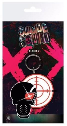 Sleutelhanger Suicide Squad Deadshot Skull