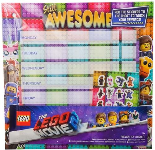 Lego 2 Reward Chart Beloningskaart 29x30cm