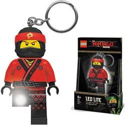 Lego Nijago Red Ninja Mini LED-zaklamp met sleutelhanger