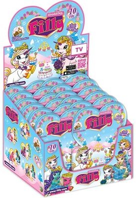 Filly Wedding Collectables in Blindbag assorti 48x in Display