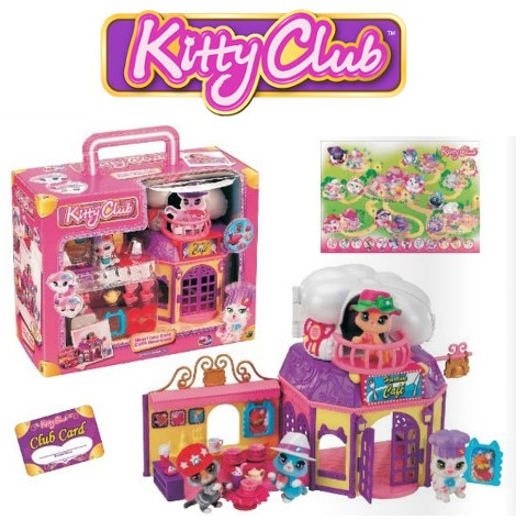 Dracco Kitty´s Heartlane Café, Playset 22x33cm