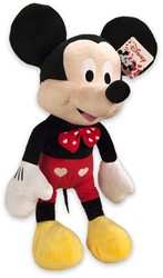 Disney Pluche Mickey Mouse met Hartjes 65cm