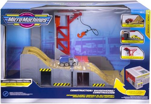 Micromachines speelset Construction 20x30cm