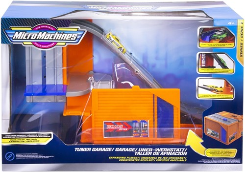 Micromachines Speelset Garage 20x30cm